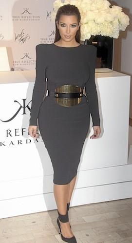 Mode Dans Le Dressing De Kim Kardashian