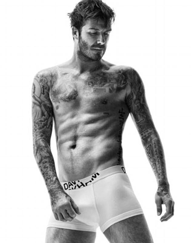 Mode : David Beckham : sexy et ténébreux pour sa dernière collection H&M