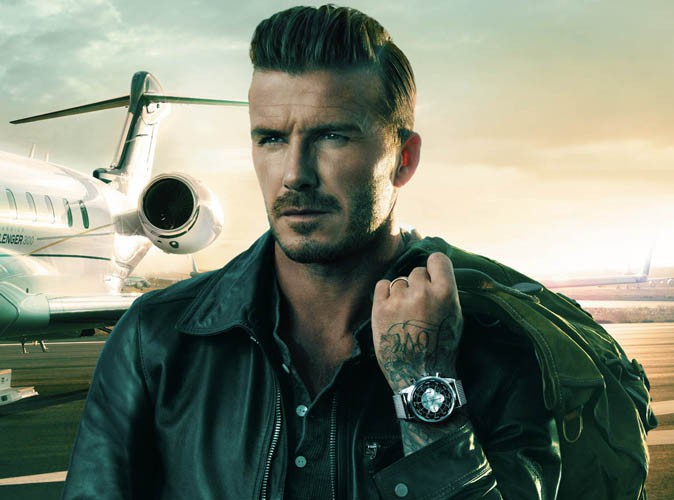 David Beckham pour la campagne de montres Breitling !