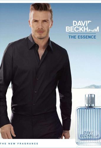 David Beckham pour la campagne de son parfum The Essence !