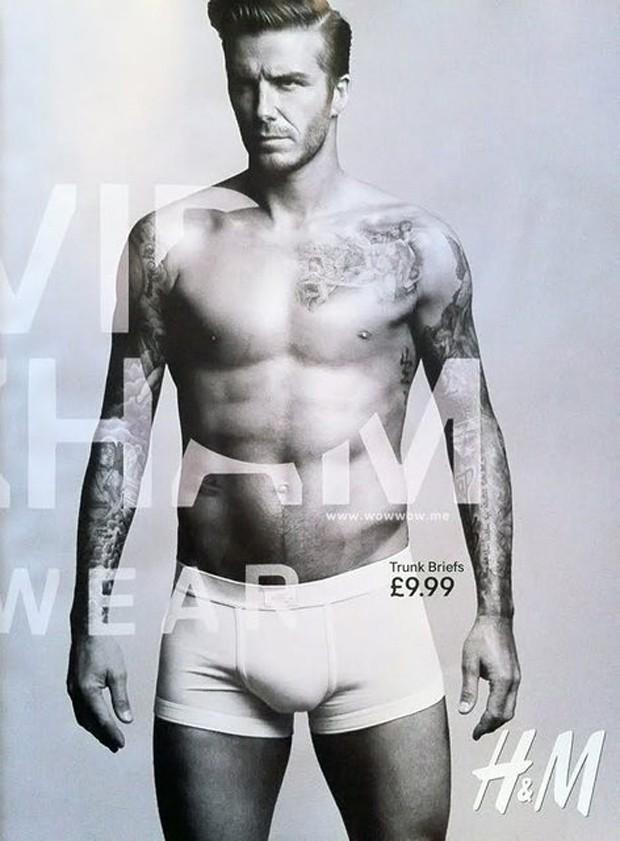 David Beckham en 4x3, qui dit mieux ?