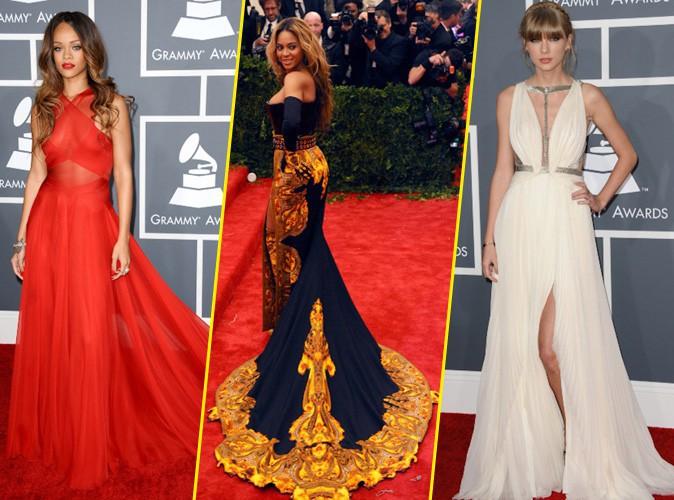 Mode : De Rihanna à Beyoncé en passant par Taylor Swift : retour sur les plus belles robes red carpet de 2013 !