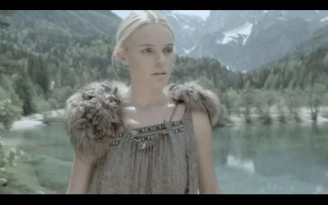 Kate Bosworth en pleine nature...