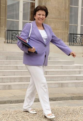 Roselyne Bachelot n'était pas vraiment une fashion victime ...