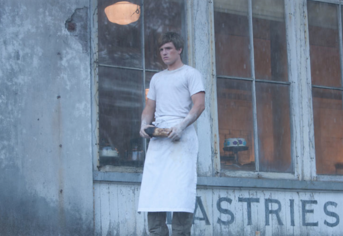 Josh Hutcherson dans Hunger Games