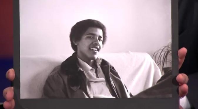 Barack Obama à l'âge de 19 ans