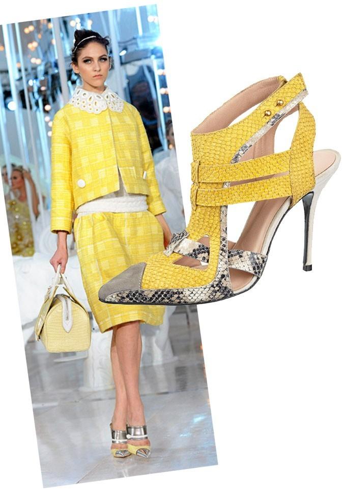 Les escarpins Louis Vuitton en moins cher chez River Island