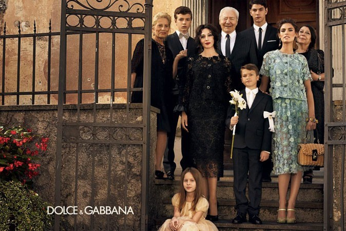 Monica et Bianca pour Dolce et Gabbana !
