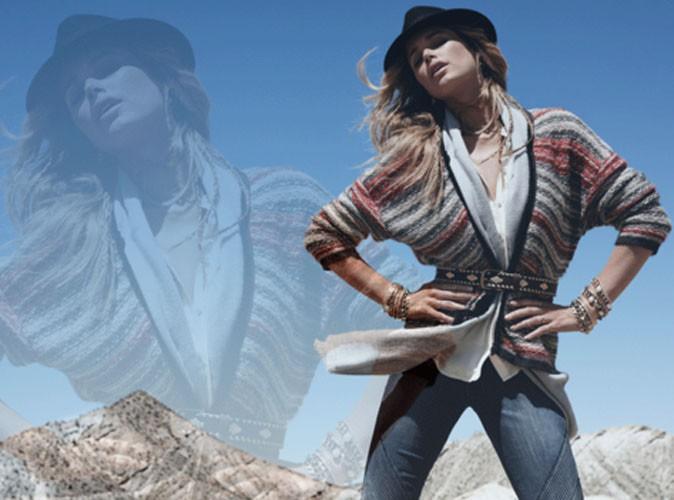 Doutzen Kroes, égérie H&M pour la campagne hiver 2013 !
