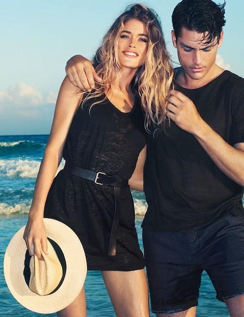 Doutzen Kroes et Tyson Ballou : Deux égéries ultra-hot pour la campagne été d'H&M !