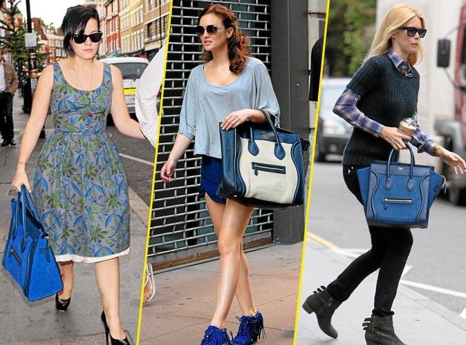 celine bag look alike - Mode : elles portent toutes... le sac Luggage de C��line !