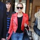 Nicole Richie porte le sac Luggage de Céline