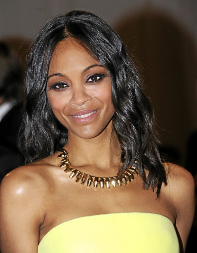 Zoe Saldana en Platt Boutique Jewelry