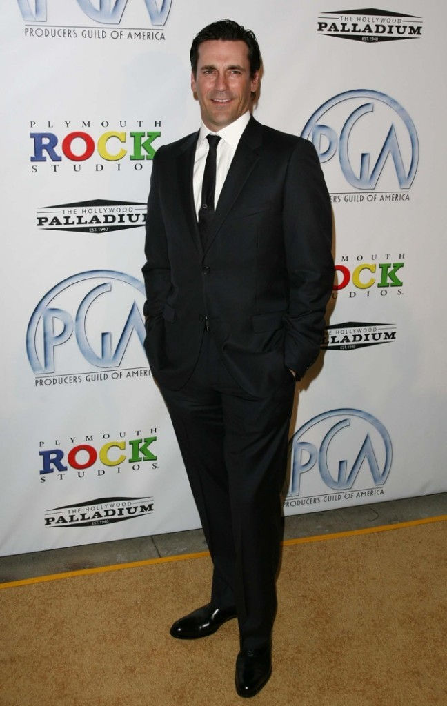 2009 : John Hamm lors des Annual Producers Guild Awards !