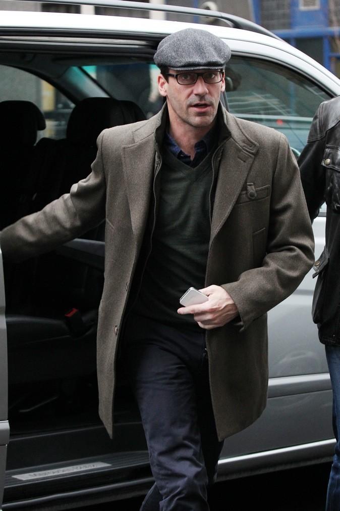 2012 : John Hamm se rend dans les studios de BBC à Londres !