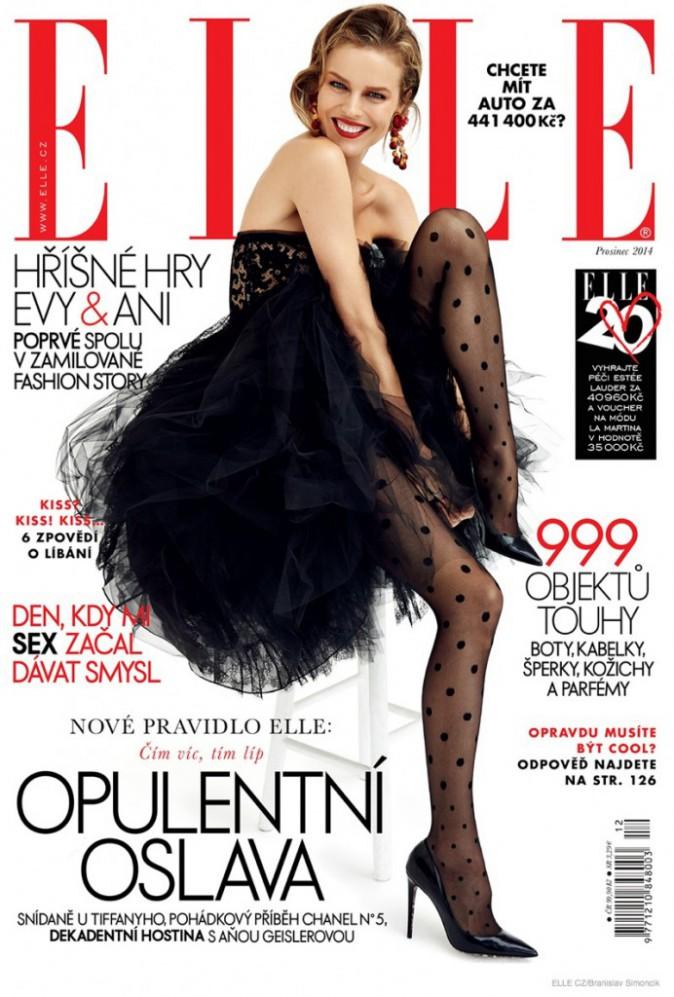 Mode : Eva Herzigova : une beauté renversante pour Elle Czech !