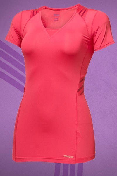 Mode : le tee-shirt Reebok EasyTone porté par Eva Mendes
