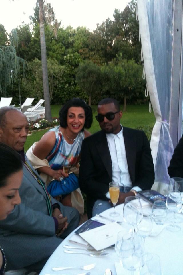 Kanye West et Fadia Otte