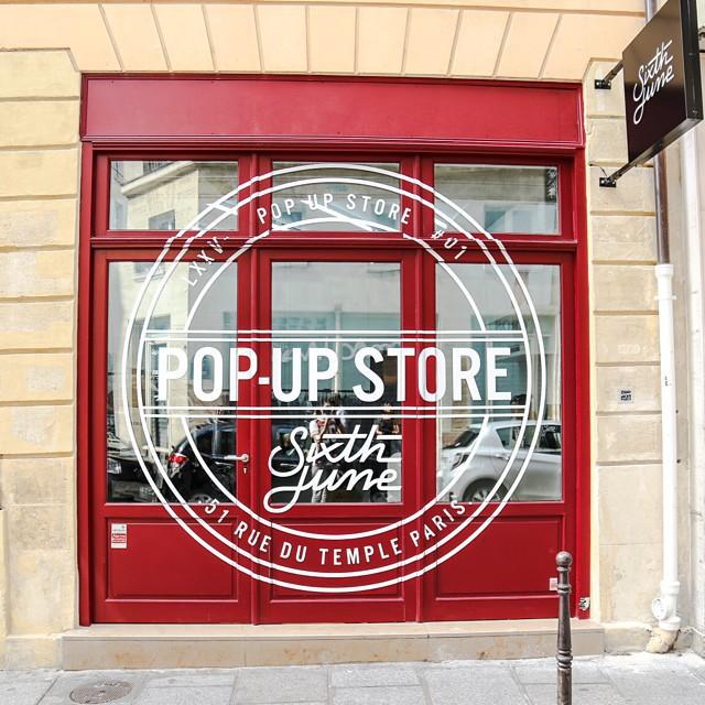 Sixth June, le Pop Up Store à découvrir !