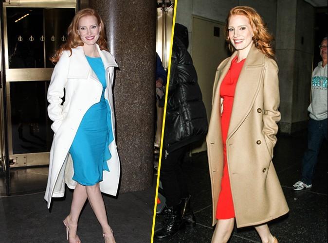 Mode : Fashion fixette : la collection de manteaux de Jessica Chastain !