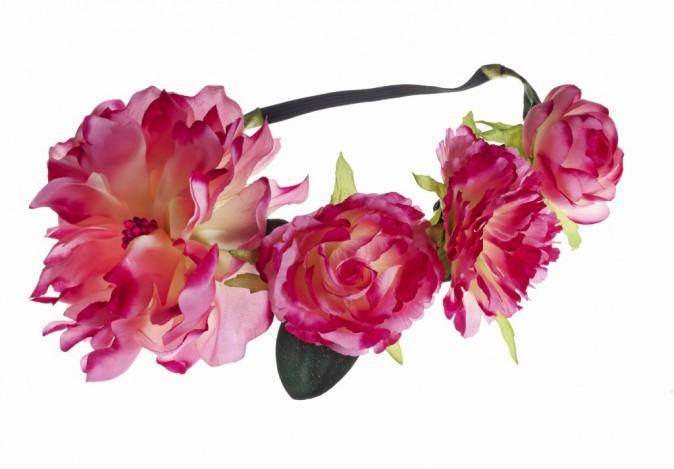 Couronne de fleurs, Claire's 12,99€