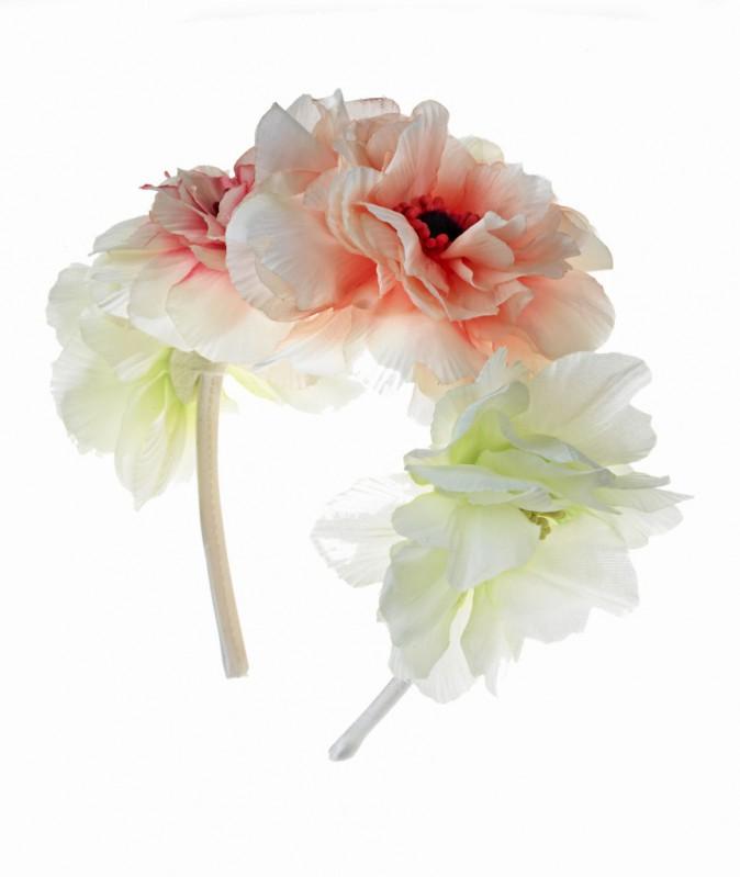 Headband à fleurs, Claire's 13 €