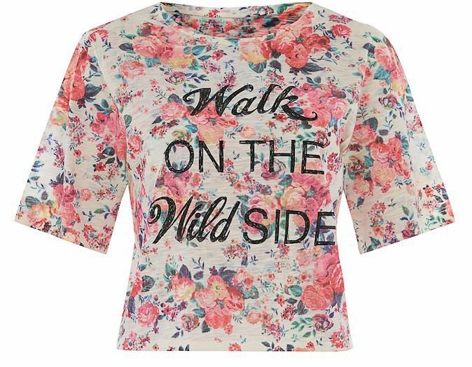 T-shirt à fleurs, New Look 15€