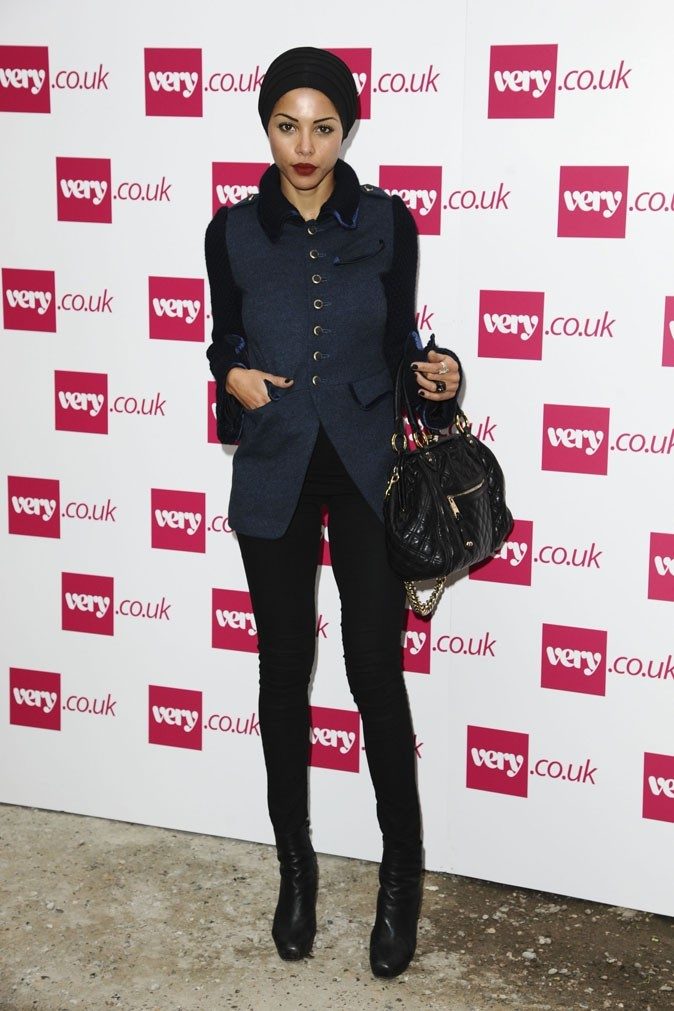 Ana Araujo lors du défilé Fearne Cotton x Very lors de la Fashion Week londonienne !
