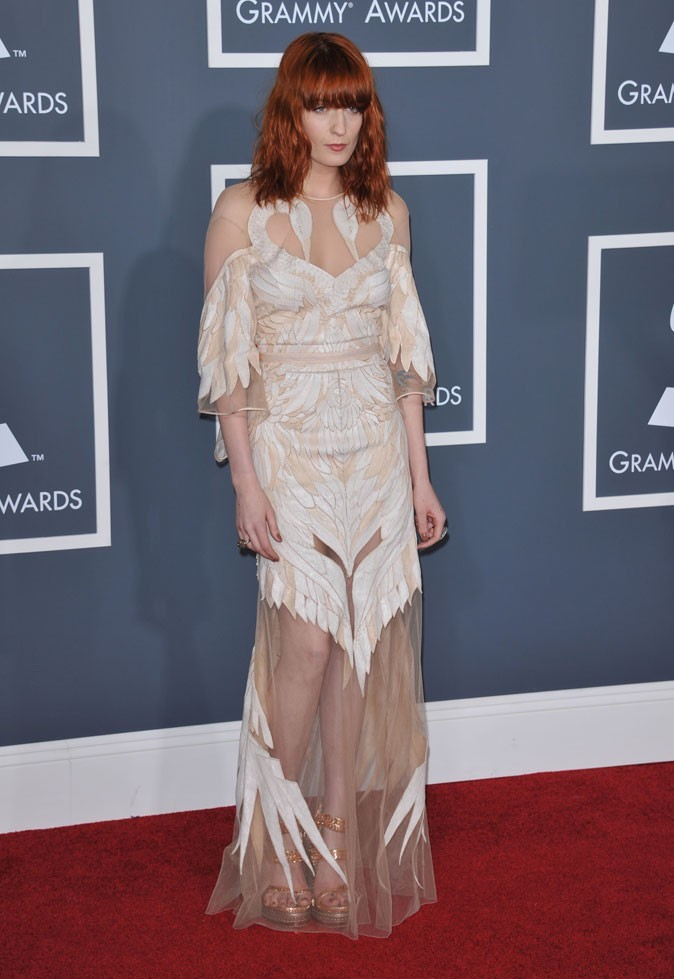 Florence Welch aux Grammy Awards 2011 ...