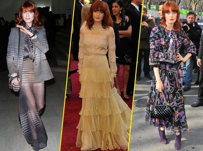 Les looks de Florence Welch, qui ont inspiré Gucci !