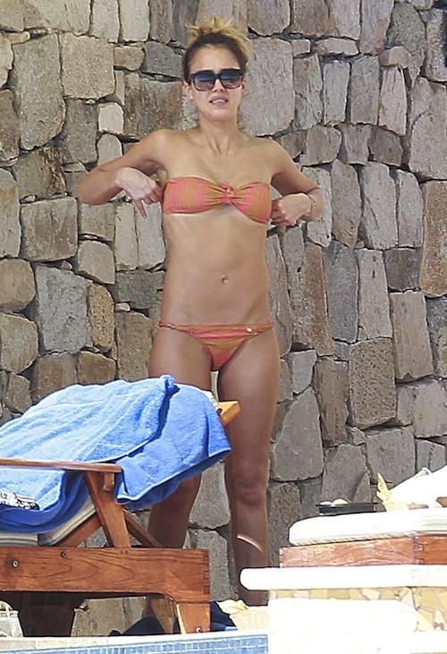 Jessica Alba le 2 janvier 2013