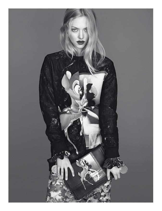 Amanda Seyfried pour Givenchy !