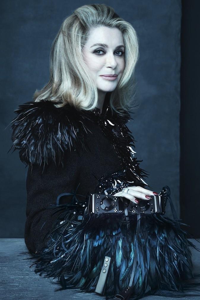 Catherine Deneuve pour Louis Vuitton !