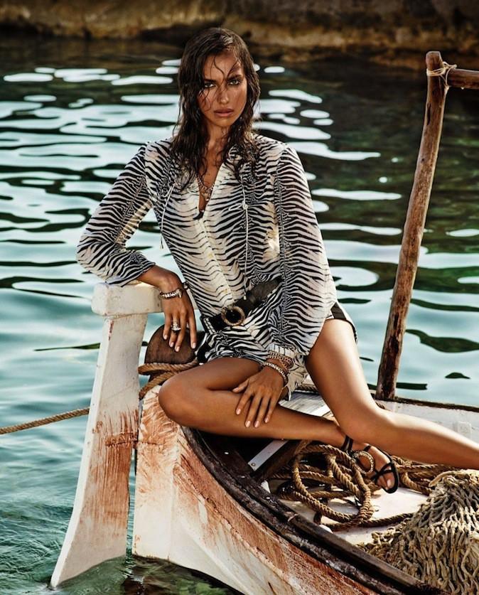 Irina Shayk pour Roberto Cavalli !