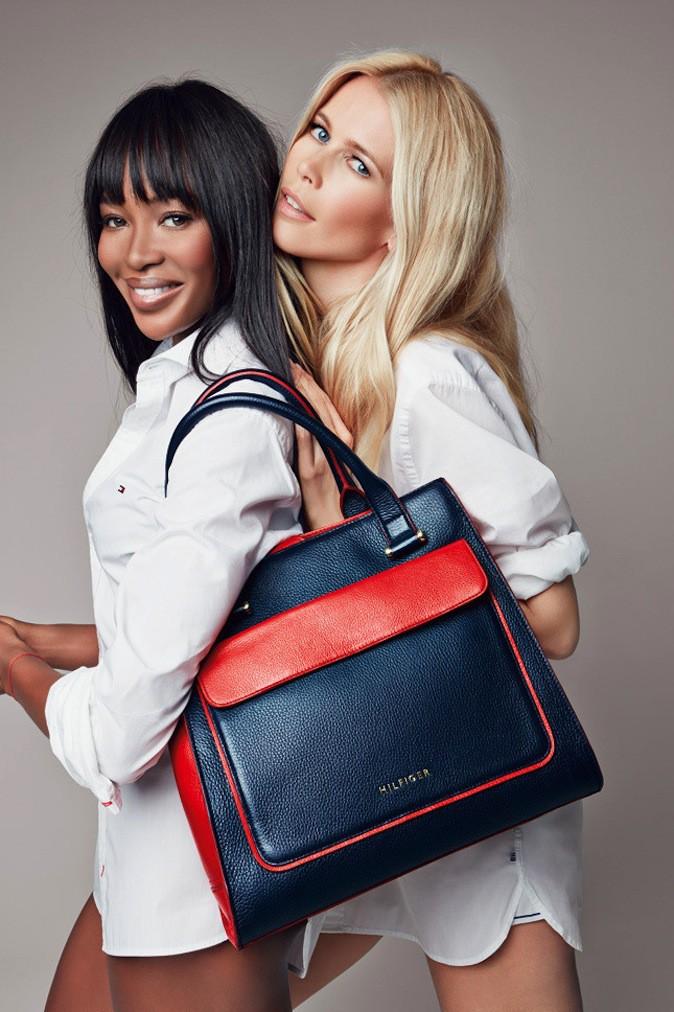 Naomi Campbell et Claudia Schiffer pour Tommy Hilfiger !