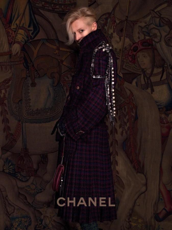 Tilda Swinton pour Chanel !