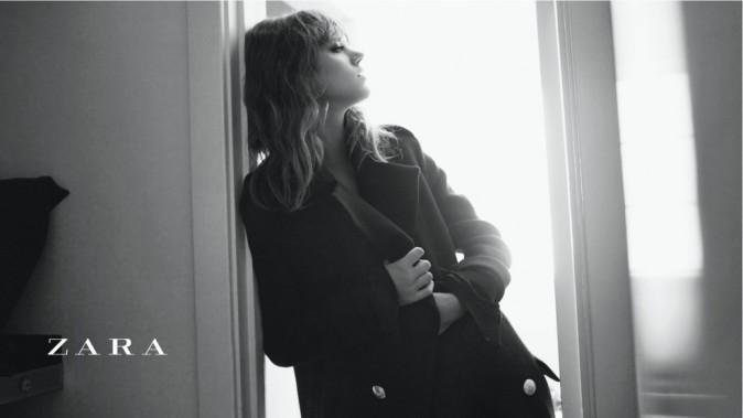 Freja Beha pour la campagne automne-hiver Zara