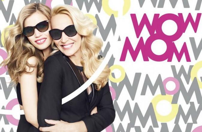 Un duo spécial fête des mères pour la campagne Sunglass Hut en 2014 !