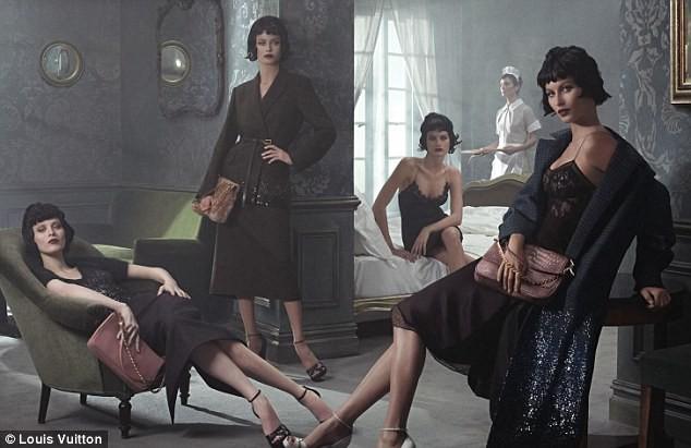Gisele Bündchen dans la nouvelle campagne Louis Vuitton Automne-Hiver 2013/2014.