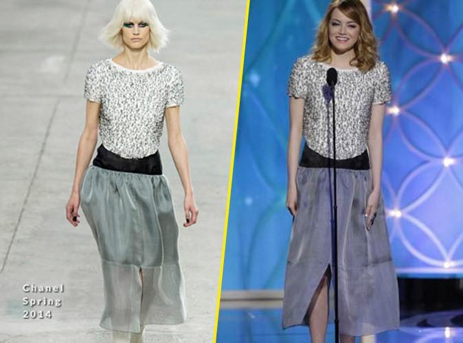 Emma Stone en Chanel