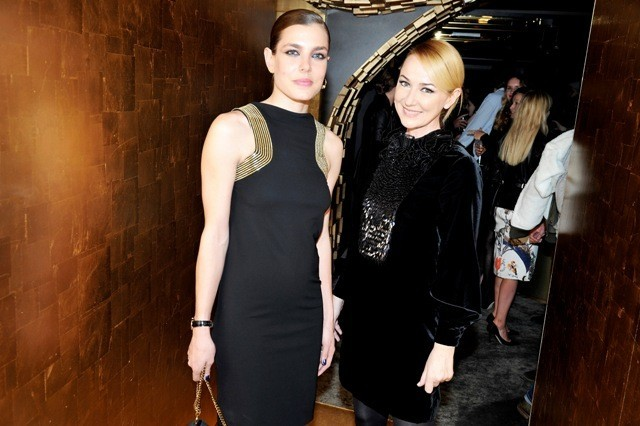 Charlotte Casiraghi et Frida Giannini