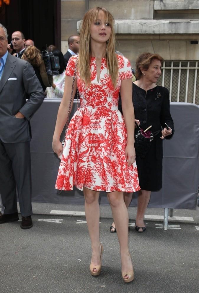 les 10 célébrités les mieux habillées de l'année: 10 ème place Jennifer Lawrence !