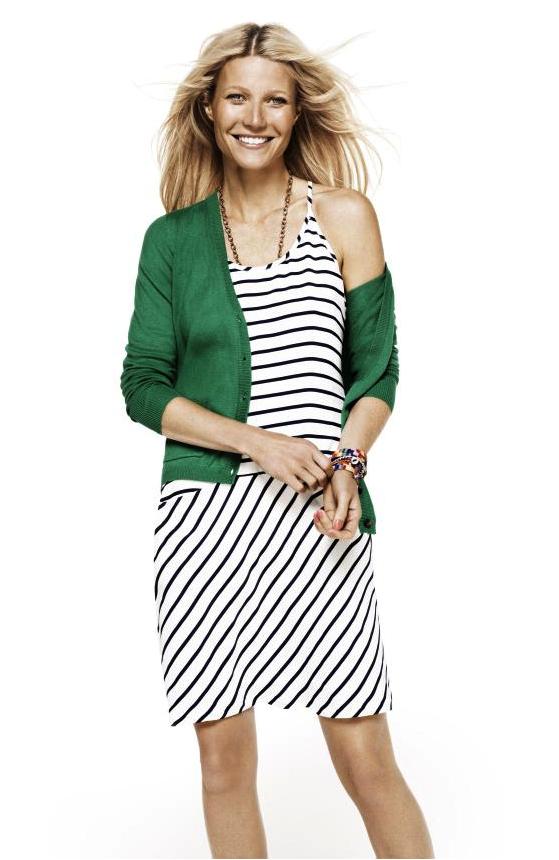 Gwyneth Paltrow pour la collection printemps-été 2012 de Lindex