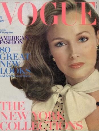 Karen Graham : 20 couvertures pour Vogue !