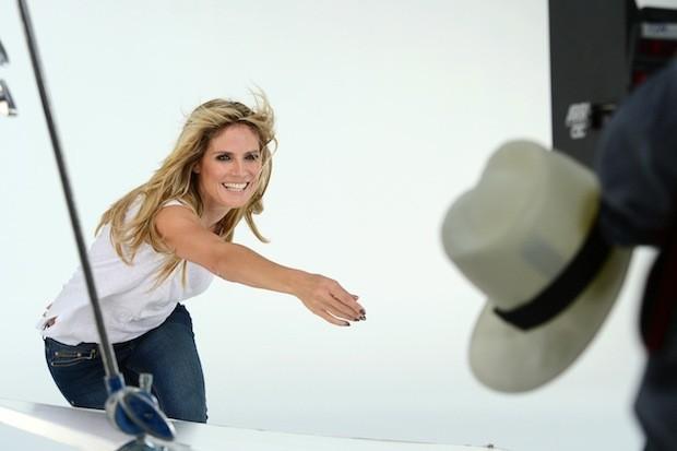 Heidi Klum, danseuse galmour pour Jordache automne 2013 !