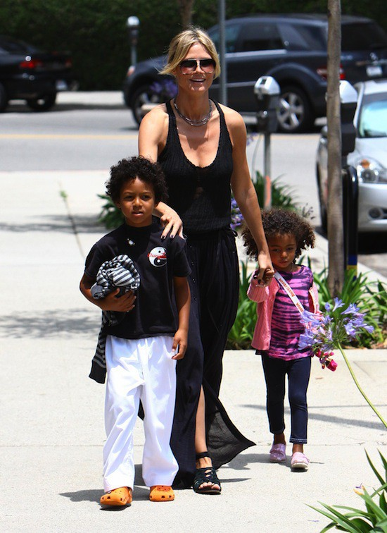 Les enfants d'Heidi Klum