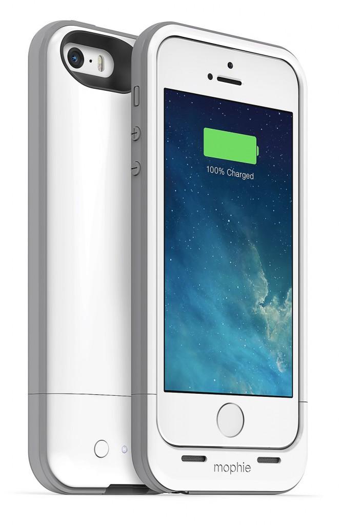 Coque rechargeable pour iPhone 5 et 5s, Mophie 100 €