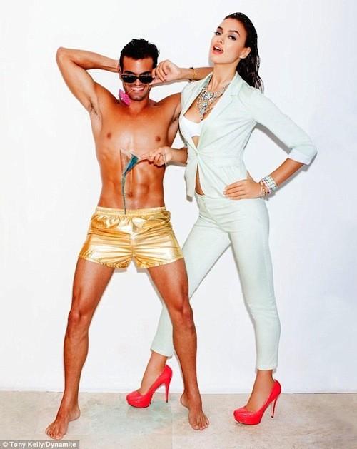 Irina Shayk, modèle sexy pour Dynamite !