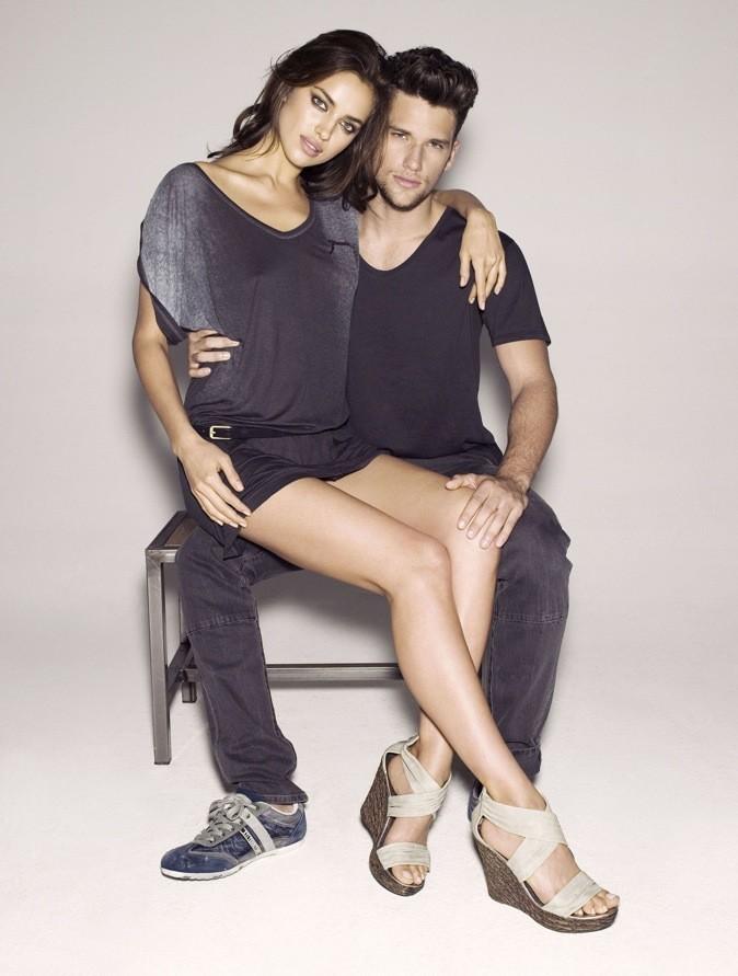 Irina Shayk et Arthur Sales pour la campagne printemps-été 2012 de Xti !