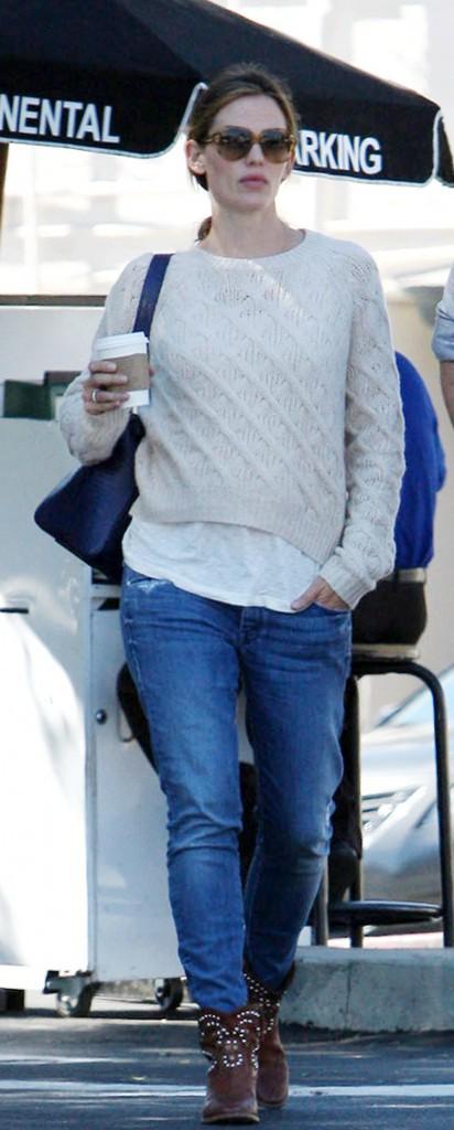 Jennifer Garner et ses chaussures Isabel Marant